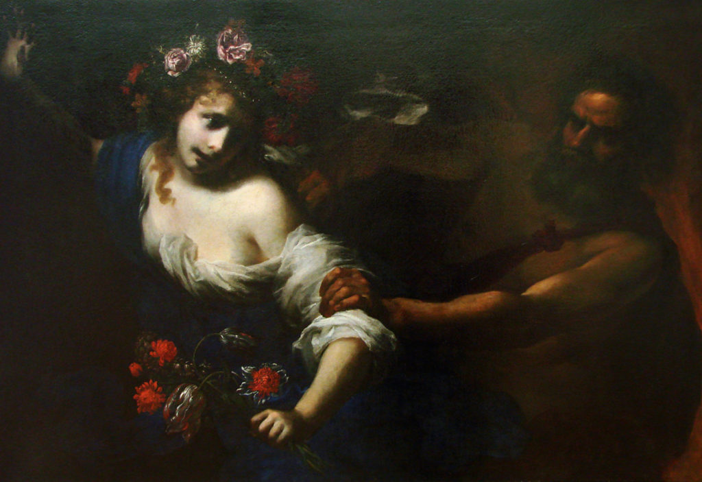 The Abduction of Persephone - Simone Pignoni - Find Your Gods