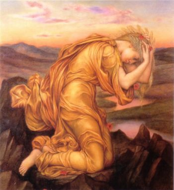 Demeter Mourning Persephone - Find Your Gods - T.M. Camp