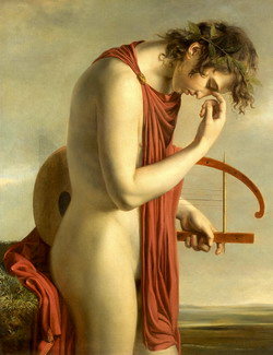 Orpheus with his lyre